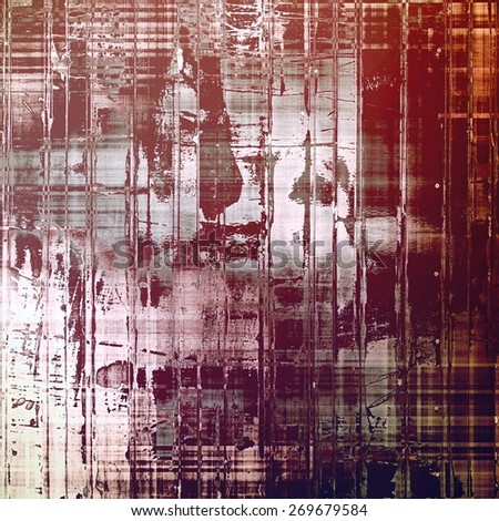 Retro background with grunge texture. With different color patterns: purple (violet); red (orange); gray; pink - stock photo