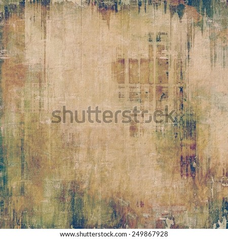 Retro background with grunge texture. With different color patterns: yellow (beige); brown; gray; purple (violet); green - stock photo