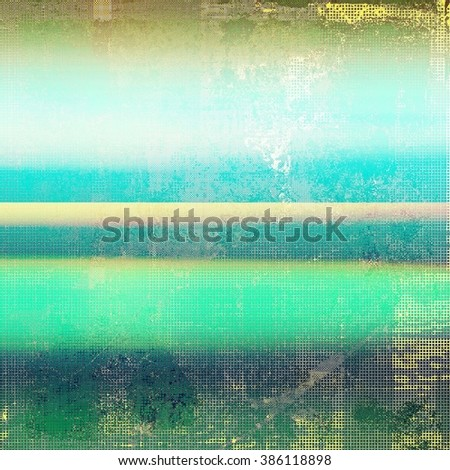 Retro background with grunge texture. With different color patterns: yellow (beige); brown; green; blue; gray - stock photo