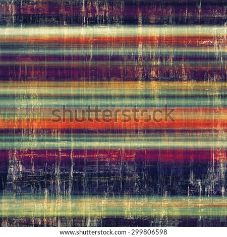 Retro background with old grunge texture. With different color patterns: yellow (beige); purple (violet); blue; red (orange) - stock photo