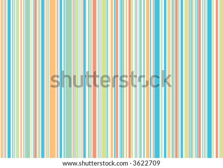 retro beach holiday stripes (raster) - illustrated background