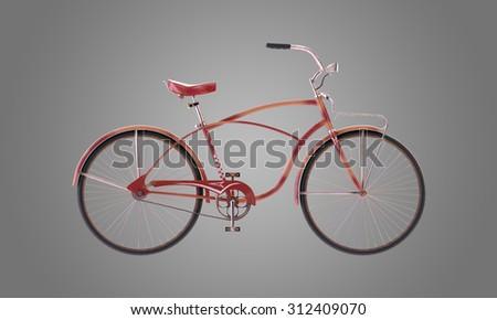 Retro Bicycle - stock photo
