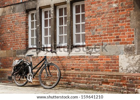 Retro bike - stock photo