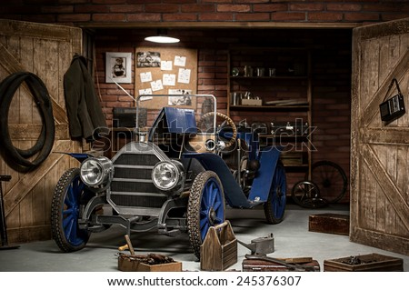 Old Garage Stock Images Royalty Free Images Amp Vectors