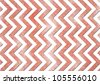 retro chevron background, red stripes on white background with old vintage grunge background texture, detailed illustration with soft faded red color, vintage zigzag background pattern design - stock photo