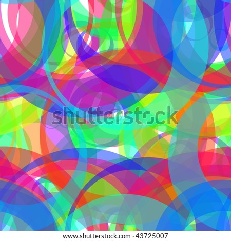 Retro color circle pattern abstract background design illustration