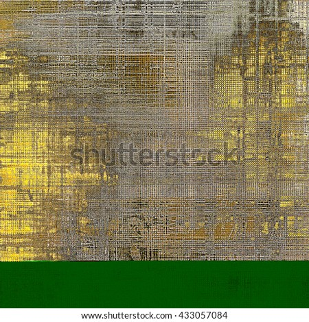 Retro colorful background or creative old style texture with different color patterns: yellow (beige); brown; gray; black; green - stock photo