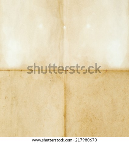 retro crumpled blank for background - stock photo
