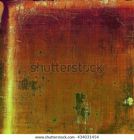 Retro design composition, grunge background or textured backdrop. With different color patterns: yellow (beige); brown; green; red (orange); gray - stock photo