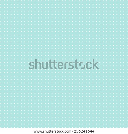 Retro dots on blue background. Abstract geometric seamless pattern or texture. For desktop wallpaper, web design, cards, invitations, wedding or baby shower albums, arts and scrapbooks. Packing. - stock photo