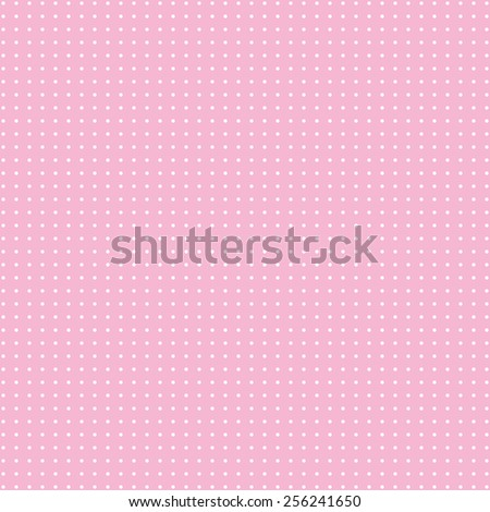 Retro dots on pink background. Abstract geometric seamless pattern or texture. For desktop wallpaper, web design, cards, invitations, wedding or baby shower albums, arts and scrapbooks. Packing. - stock photo