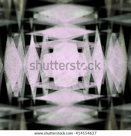 Retro duotone diamond blur background