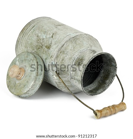 Retro jug - stock photo