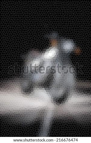 Retro Motorcycle  - stock photo
