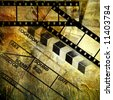 retro movies background - stock photo