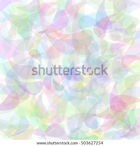 Retro pastel background, raster version