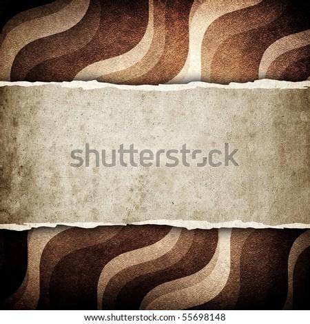 retro pattern background - stock photo