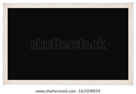 Retro Picture Frame - stock photo