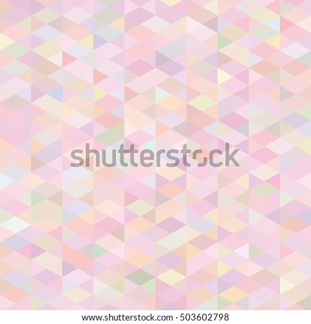 Retro pink soft pattern background, raster version