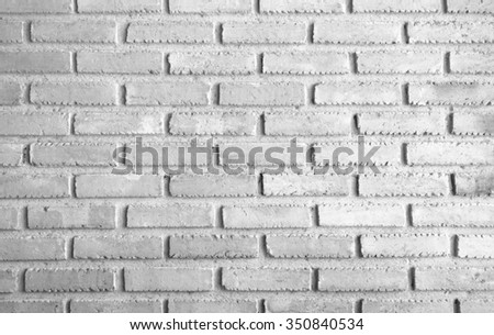 retro reproduction brick wall fine arranged and fine colorized black and white version