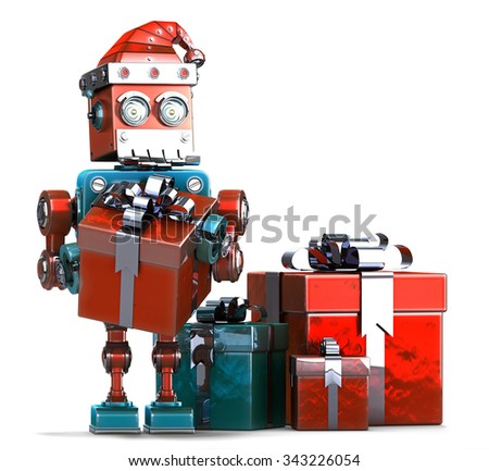 Christmas Robot Stock Images, Royalty-Free Images & Vectors ...