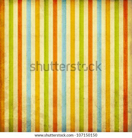 Retro stripe pattern - stock photo