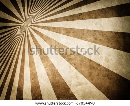 retro stripe pattern background - stock photo