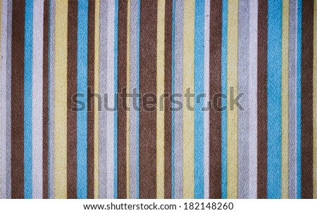 Retro stripe pattern, fabric background - stock photo
