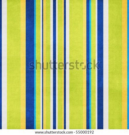 Retro Stripes Blue Green Background - stock photo