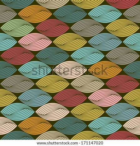 Retro style abstract seamless pattern, background. Seamless pattern can be used for wallpaper, pattern fills, web page background,surface textures. Gorgeous seamless background