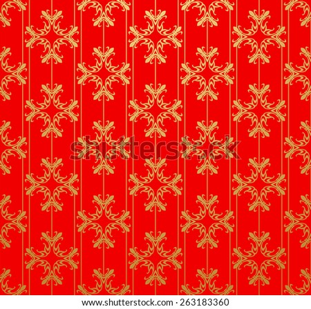 Retro style. Wallpaper for Your design. Vintage style. Texture background. Red color - stock photo