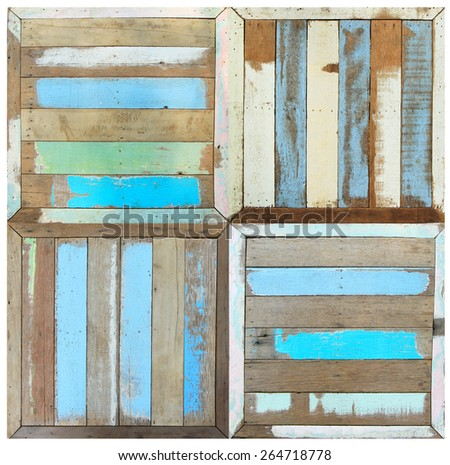 Retro style wooden background - stock photo