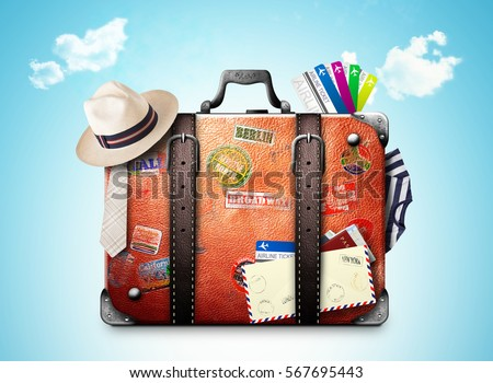 Travel Suitcase Stock Images, Royalty-Free Images & Vectors ...