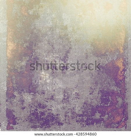 Retro texture, shabby and ragged background in grunge style. With different color patterns: yellow (beige); brown; gray; purple (violet); pink - stock photo