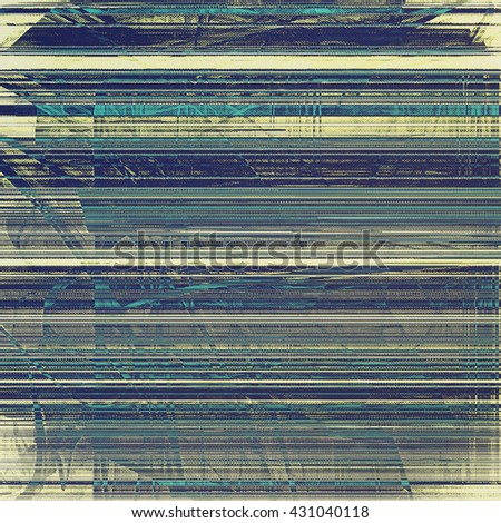 Retro texture, shabby and ragged background in grunge style. With different color patterns: yellow (beige); blue; gray; black; cyan - stock photo