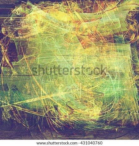 Retro texture, shabby and ragged background in grunge style. With different color patterns: yellow (beige); brown; green; red (orange); purple (violet); gray - stock photo