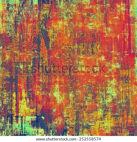 Retro texture. With different color patterns: yellow (beige); green; blue; red (orange); purple (violet) - stock photo
