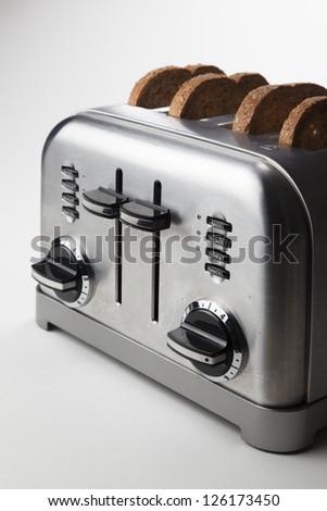 Retro toaster. - stock photo