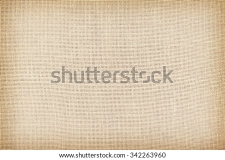 Retro toned natural linen texture or background. - stock photo