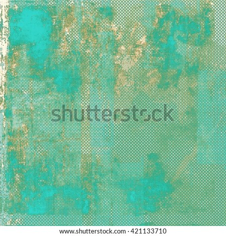 Retro vintage colored background with noise effect; grunge texture with different color patterns: yellow (beige); brown; green; gray; blue; cyan - stock photo