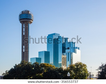 Reunion Tower is a observation tower and one of the most recognizable landmarks in Dallas, Texas.