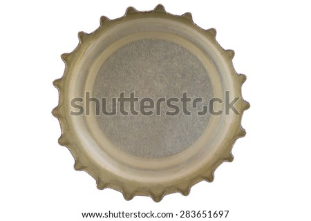 Reverse bottle cap