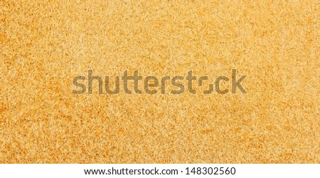 reverse side of a piece of natural leather , close-up - stock photo