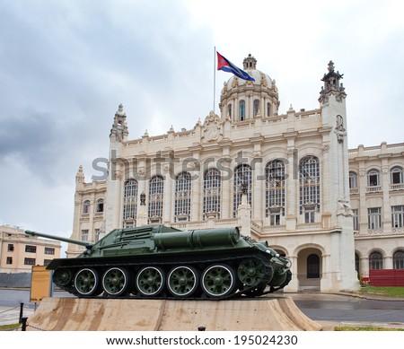 Revolution museum. Cuba. Havana. - stock photo
