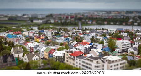 Reykjavik - stock photo