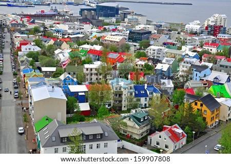 Reykjavik. Iceland - stock photo