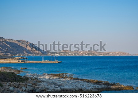 Rhodes coastline, Greece