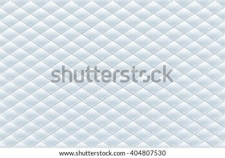 Rhombus patterned background 3D rendering. - stock photo