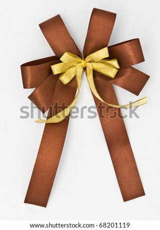 ribbon bow for gift box