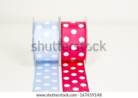 ribbon on white background  - stock photo